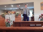 Preaching at Quackenbush Hill Baptist in Corning, NY