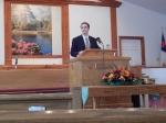 Presenting at Bethel Baptist