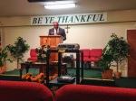Pastor Rowe in Hopewell, VA