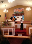 Pastor Washington and El Bethel Baptist